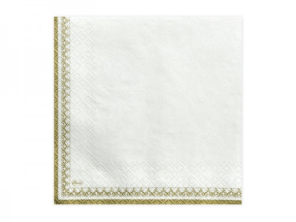 20 IHS communion napkins