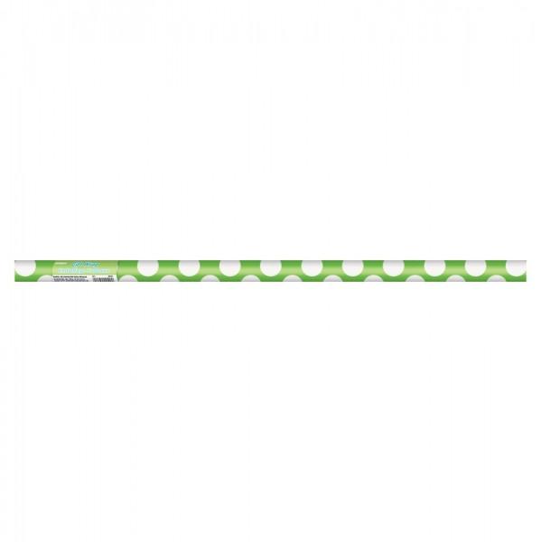 Papier cadeau Tiana Kiwi Green Dotted 76 x 152cm