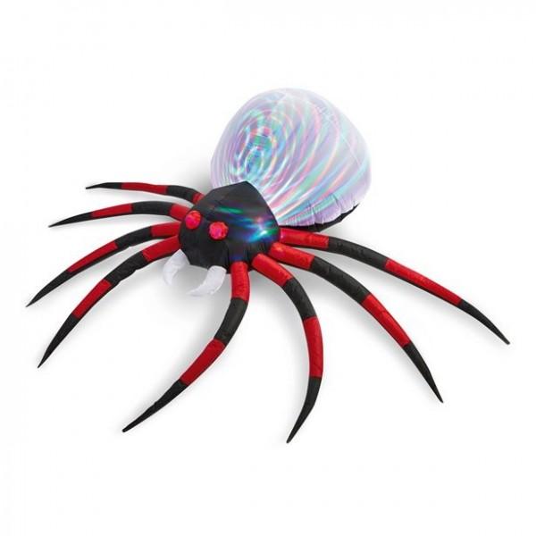 Riesige aufblasbare LED Spinne 2,4m