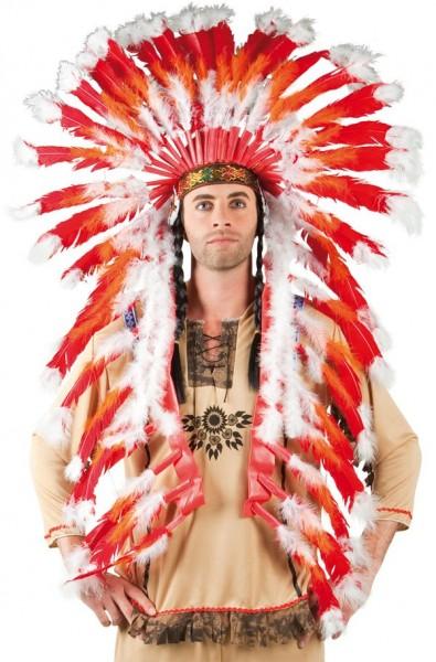 Indianer Häuptling Kopfschmuck Geronimo