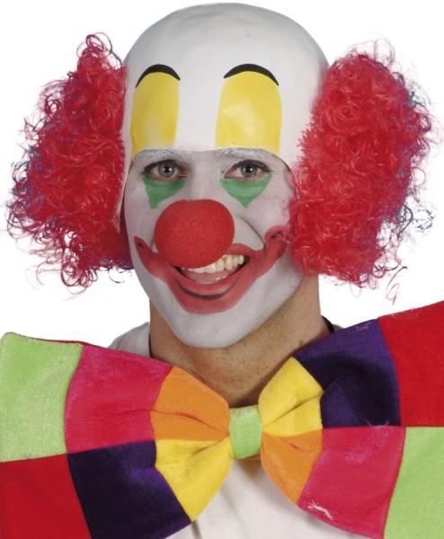 Clown avec perruque chauve