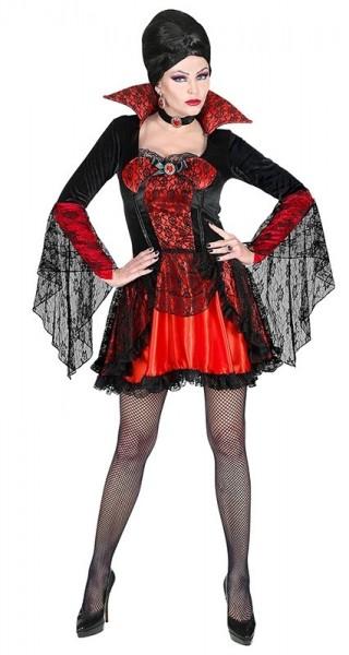 Vamp IRIN Vamp Halloween pipistrello abito da Donna Costume DIAVOLA Costume da donna