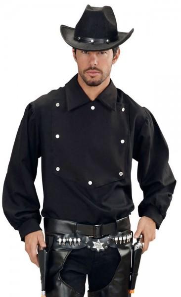 Chemise Noble Cowboy Homme Noir
