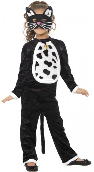 Niedliches Katzen Kostüm für Mädchen