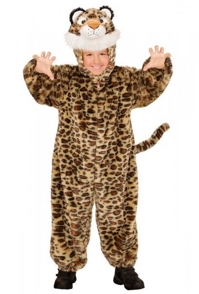 Liam Leopard Plüschkostüm Für Kinder