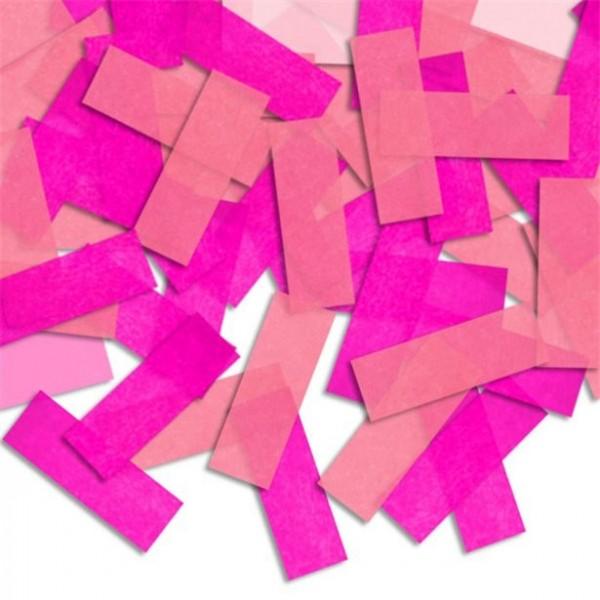Confettis pour remplissage de piñata rose-rose