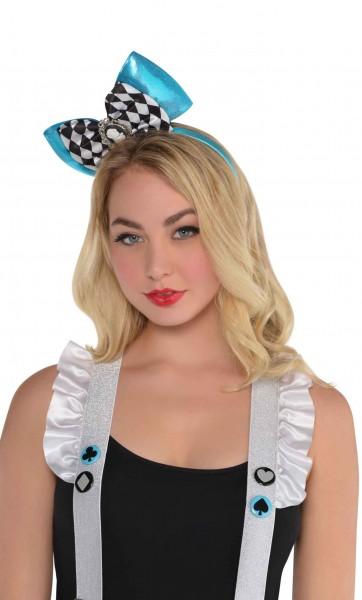 Wonderland hoofdband blauw