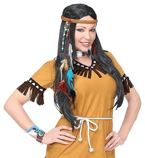 Indianer Feder Schmuck Set 5-teilig
