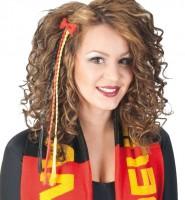 Deutschland Fan Haarclip geflochten
