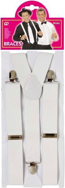 Bretels in wit