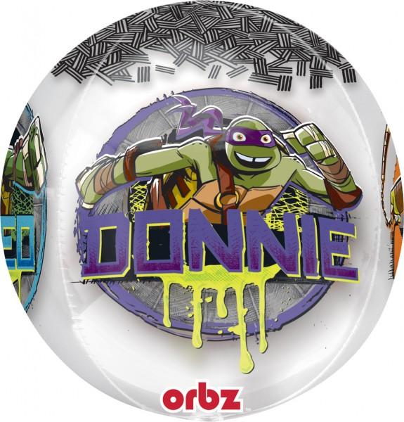 Orbz Ballon Furchtlose Ninja Turtles
