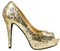 Sexy High Heels Gold