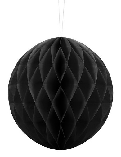 Honeycomb ball Lumina black 20cm