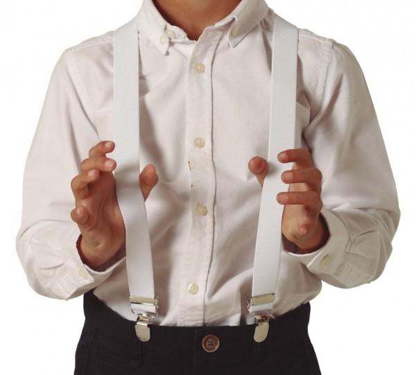 Bretels voor kinderen wit