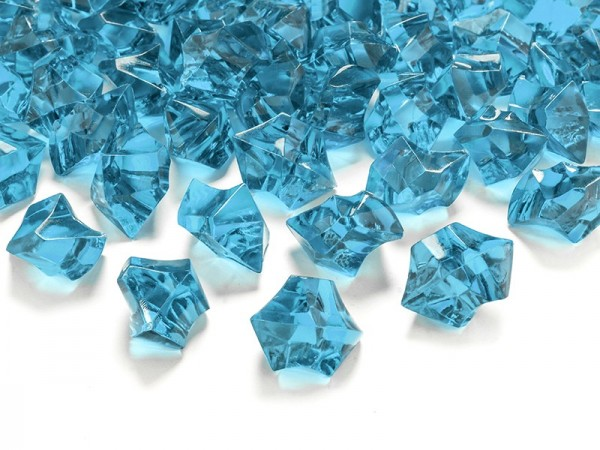 50 Türkise Streudeko Kristalle