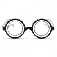 Nerdbrille Riesenauge rund