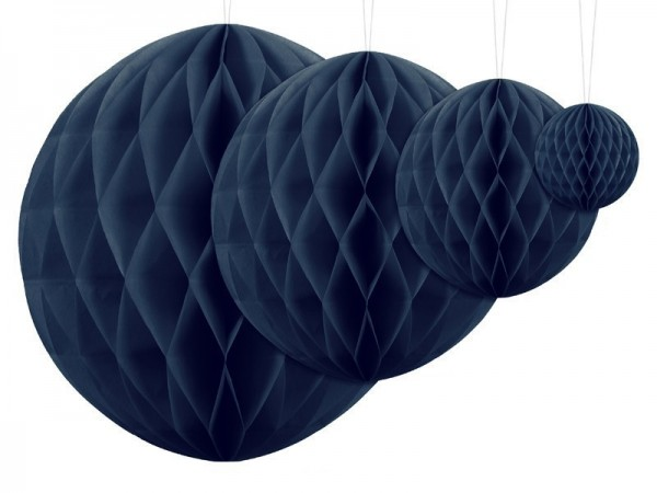 Bola nido de abeja Lumina azul oscuro 20cm