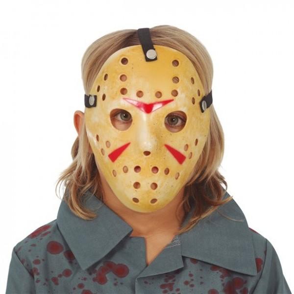 Maska hokejowa seryjnego zabójcy dla dzieci