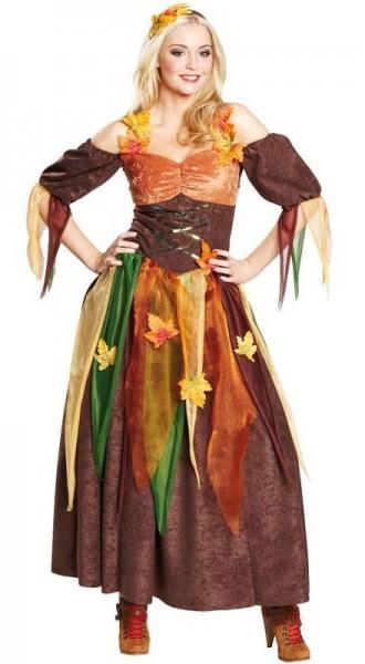 Herbstliches Fee Kostüm Für Damen