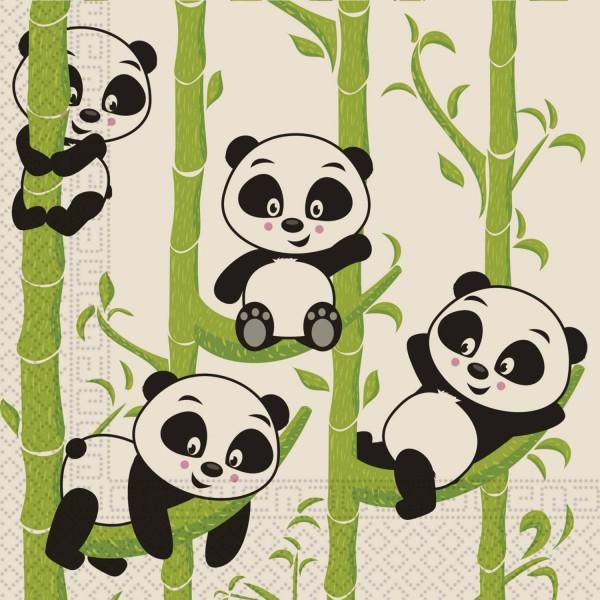 20 servilletas Panda Eco 33cm