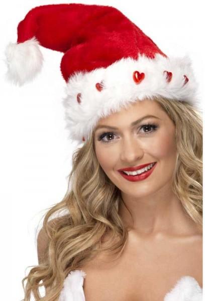 Leuchtende Christmas Bommel Mütze