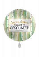 Geschafft Glückwunsch Folienballon 43cm
