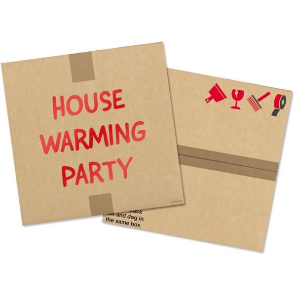 20 House Warming Party Servietten 33cm