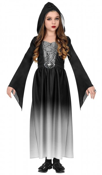Gothic Kleid Raven für Mädchen
