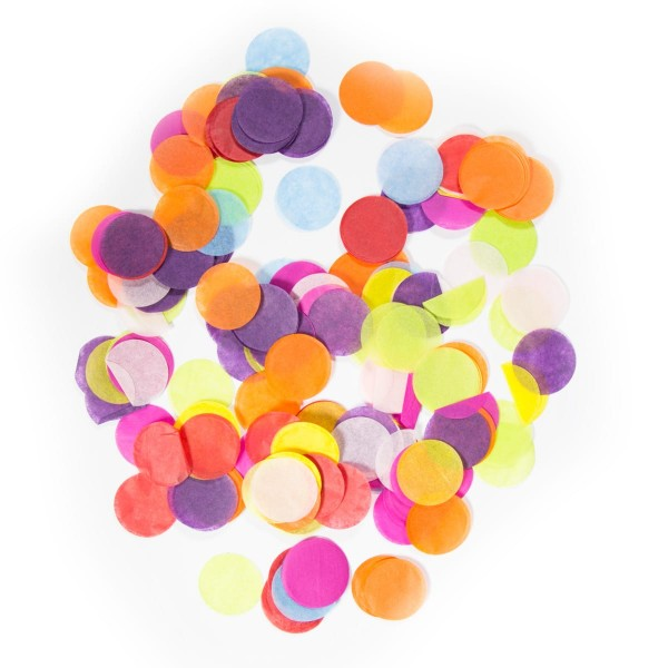 Colourful Rainbow Confetti Pack 14g