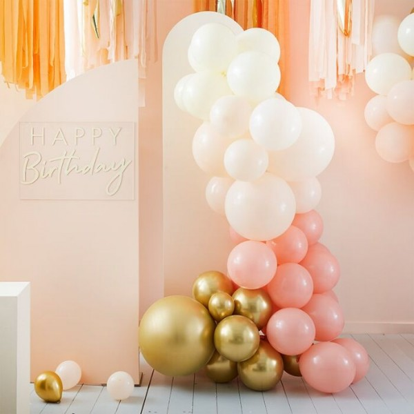 Guirlande de ballons Peach Blossom