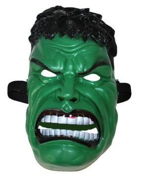 Grüne Muskelmann Maske