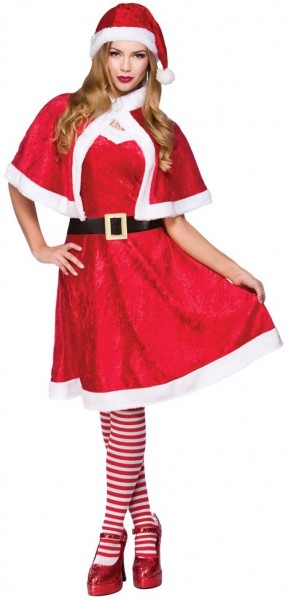 Fröhliches Weihnachts Damen Kostüm