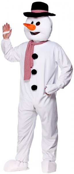 Snorre Der Schneemann Unisex Kostüm Weiß