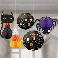 5-teiliges Halloween Hängedeko-Set