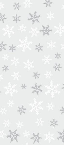 20 Schneeflocken Geschenktüten 12,5 x 28cm