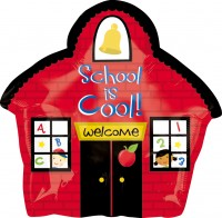 School is cool Folienballon 45cm