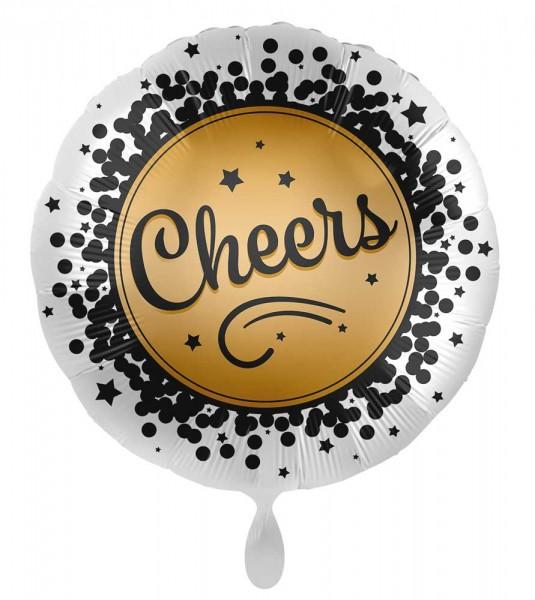 Ballon aluminium du Nouvel An Cheers 71cm