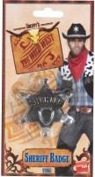 Cowboy Sheriff Stern 6,5cm