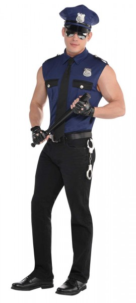 Déguisement de policier Johnny pour homme
