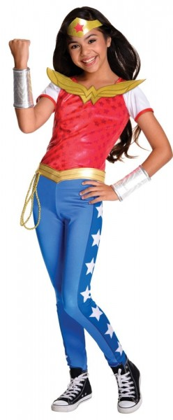 DC Super Hero Wonder Woman Kostüm Für Mädchen