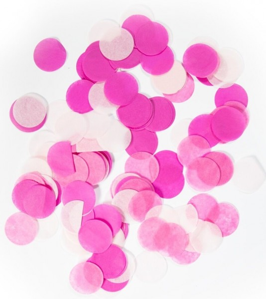 Confetti baby shower pink