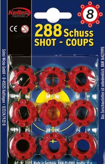 Blank cartridge set 288 rounds