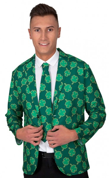 St. Patrick's jacket and tie for men