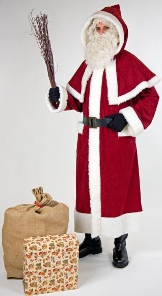 Disfraz de Papá Noel diseño vintage