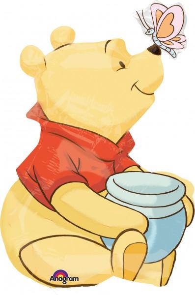 Stabballon Winnie Pooh mit Honig