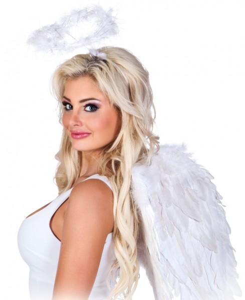 Fascia d'angelo alone bianco