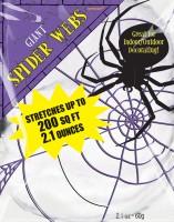 Spinnennetz Deko Set 18,5m²