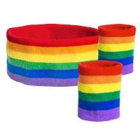 Magical Rainbow Schweißband Set