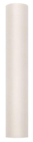 Tessuto di tulle in crema 9m x 30cm
