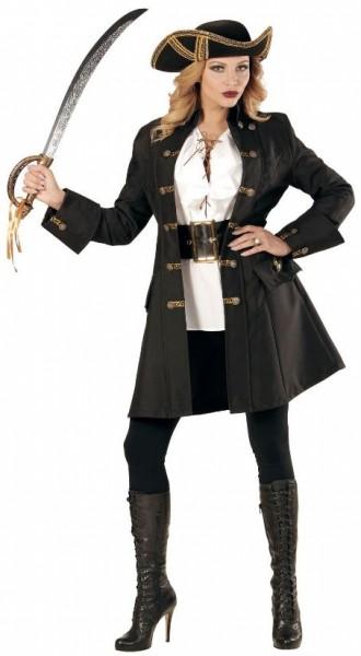 Piraten Räuberin Mantel für Damen